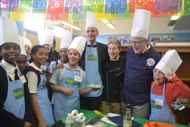 Органическая еда, натуральные продукты: Школьный учитель из Бронкса и его «овощная установка»