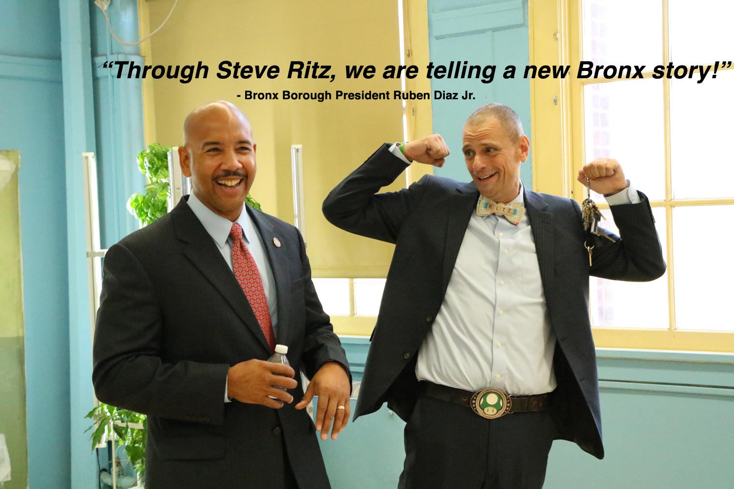 Bronx Borough President Ruben Diaz Jr Testimonial