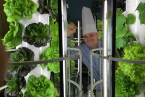 Chef Stephen with Tower Gardens at CS55