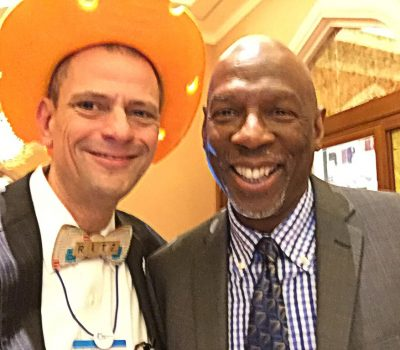 Stephen Ritz with Geoffrey Canada