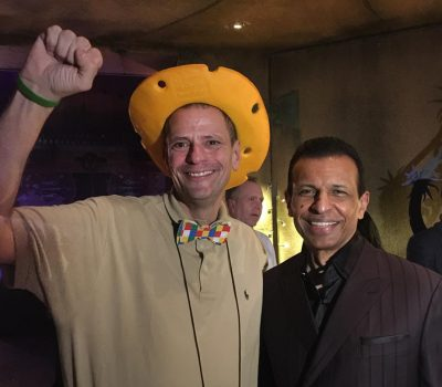 Stephen Ritz with Sunny Varkey