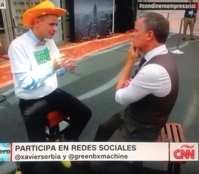 Stephen Ritz with Xavier Serbia