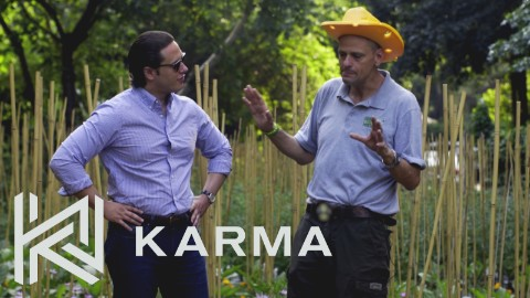 Stephen Ritz on Karma Network - 1 Number