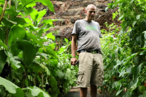 Stephen Ritz at the Food For Others Garden