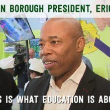 Brooklyn Borough President, Eric Adams