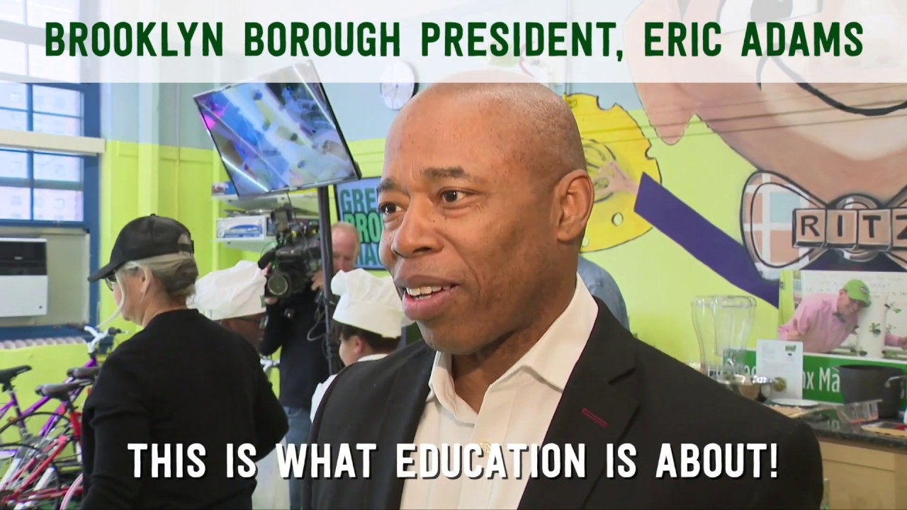 Brooklyn Borough President, Eric Adams